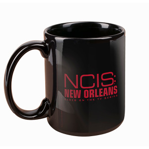NCIS: New Orleans Black Mug