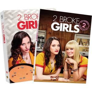 2 Broke Girls: Seasons 1 & 2 DVD