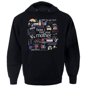 How I Met Your Mother Quote Mashup Hoodie