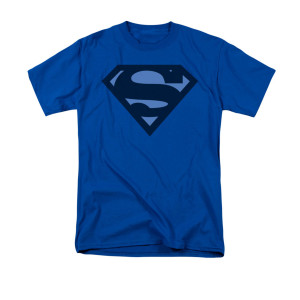 Sheldon's Blue Shield Superman T-shirt
