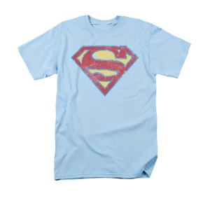 Sheldon's Light Blue Superman T-shirt
