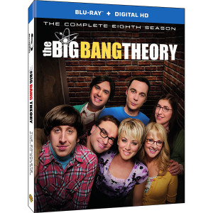 The Big Bang Theory: Season 8 (Blu-ray + UltraViolet)