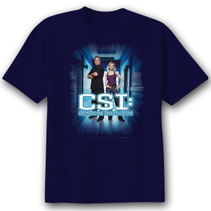 CSI 'Serious Business' T-Shirt  - Navy