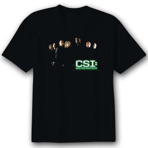 CSI 'Shadow Cast' T-Shirt  - Black
