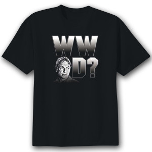 "NCIS ""What Would Gibbs Do?"" T-Shirt - Black"