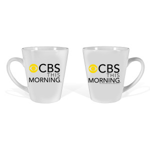 CBS This Morning Latte Mug