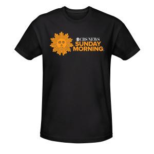 CBS News Sunday Morning Logo T-Shirt