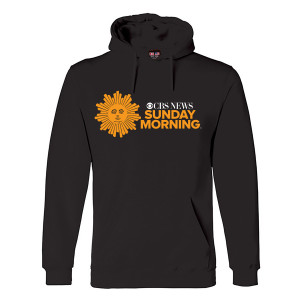 CBS News Sunday Morning Logo Hoodie
