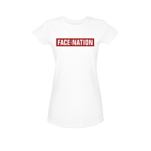 Face The Nation Logo Women's Junior Slim Fit T-Shirt