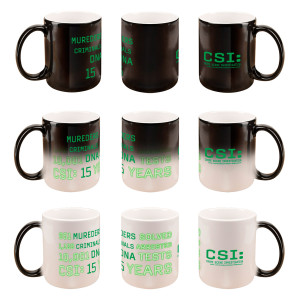 CSI 15 Years Commemorative Heat Sensitive Mug