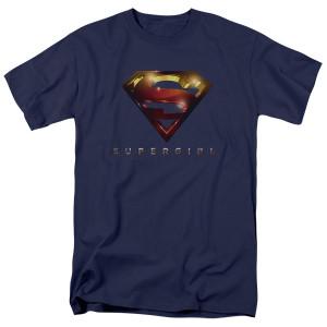Supergirl Glare Logo T-Shirt