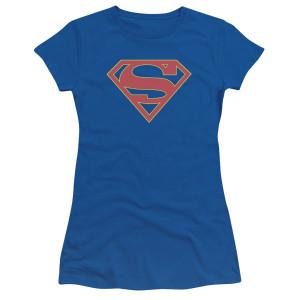 Supergirl Logo Women's Junior Slim Fit T-Shirt