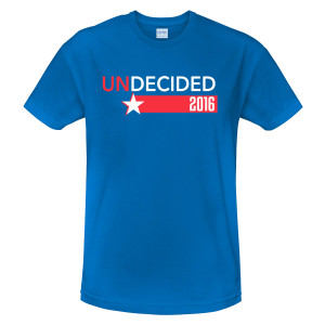 The Late Show With Stephen Colbert Undecided 2016 T-Shirt
