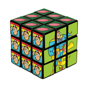 Scorpion Super Fun Guy Puzzle Cube