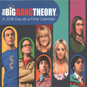 The Big Bang Theory 2018 Calendar