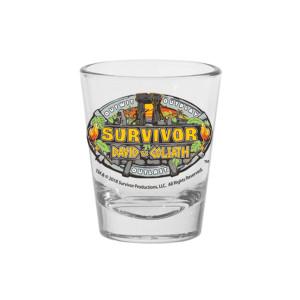 Survivor 37 Shot Glass