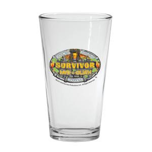 Survivor 37 Pint Glass