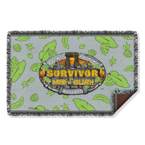 Survivor Season 37 Woven Blanket (36x58)