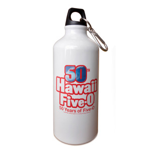 Hawaii Five-0 50th Anniversary Aluminum Water Bottle