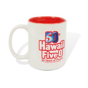 Hawaii Five-0 50th Anniversary Logo Mug