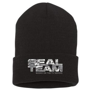 Seal Team Camo Logo Beanie