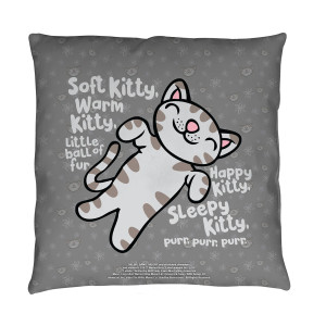 The Big Bang Theory Soft Kitty Throw Pillow