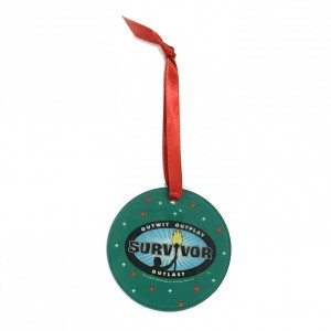 Survivor Logo Green Ornament