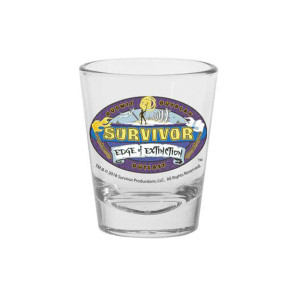 Survivor Season 38 Shot Glass