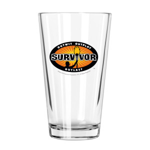 Survivor Outwit, Outplay, Outlast Pint Glass