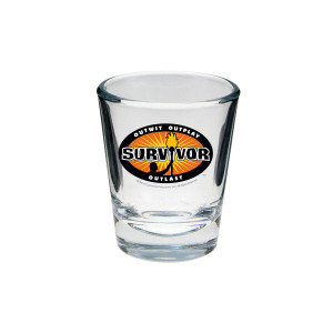 Survivor Outwit, Outplay, Outlast Shot Glass