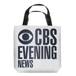 CBS Evening News Tote (13x13)