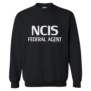 NCIS Federal Agent Pullover (Black)