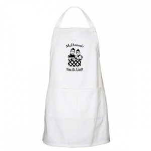 Hawaii Five-0 McDanno's Apron