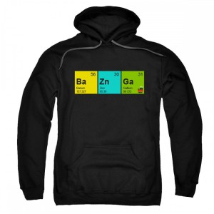 The Big Bang Theory Ba Zin Ga Pullover Hoodie