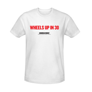 Criminal Minds Wheels Up in 30 T-Shirt