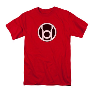 Sheldon's Red Lantern Symbol T-shirt