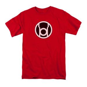 Sheldon's Red Lantern Symbol T-shirt