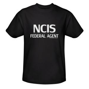 NCIS Federal Agent T-Shirt (Black)