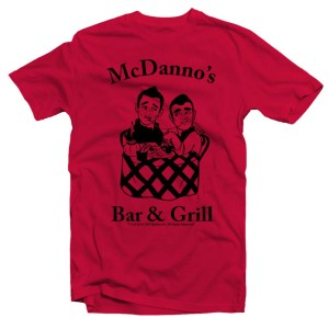 Hawaii Five-0 McDanno's Outline T-Shirt (Red)
