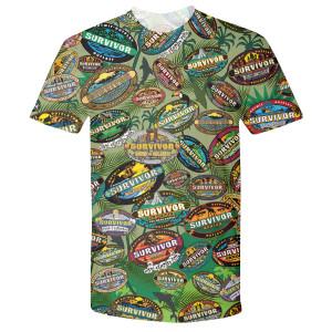 Survivor Logo Allover T-Shirt