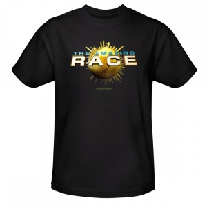 The Amazing Race Logo T-Shirt - Black