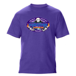 Survivor 36 Logo T-Shirt (Purple)