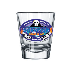 Survivor Season 36 Shot Glass