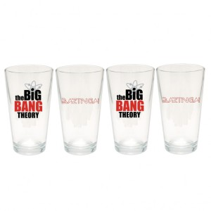 The Big Bang Theory Bazinga! Pint Set