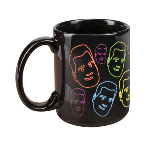 The Late Late Show with James Corden Neon Faces Mug