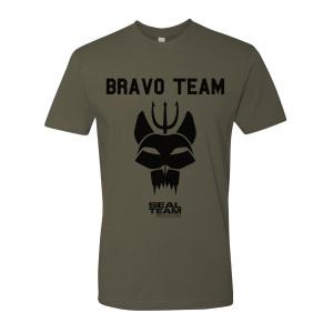 SEAL Team Bravo Team T-Shirt (Military Green)