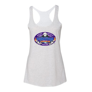 Survivor 36 Logo Women's Racer Back Tank