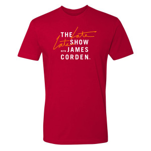 The Late Late Show with James Corden Logo T-Shirt (Red)