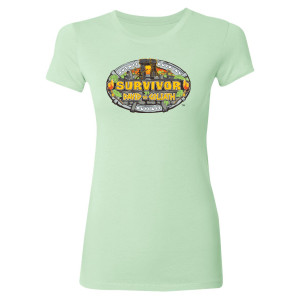Survivor Season 37 Logo Women's Slim Fit T-Shirt