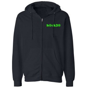 Big Brother Hacker Zip Up Hoodie (Navy)